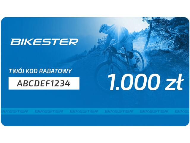 Bikester Karta upominkowa, 1000 zł